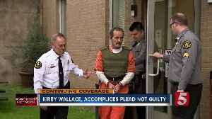 Kirby Wallace, subject of 2-week manhunt, pleads not guilty to all charges [Video]