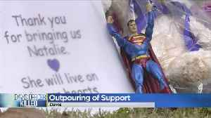 Outpouring Of Support In Davis For Fallen Officer Natalie Corona [Video]