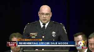 Friends, fellow officers lay Dale Woods to rest [Video]