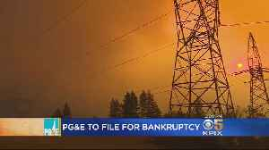 PG&E Announces Plans To File For Chapter 11 Bankruptcy [Video]