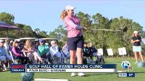 LPGA Hall Of Famer Betsy King hosts Golf Clinic in West Palm [Video]