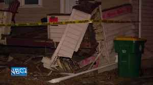 Police: Suspect's vehicle crashes into home during chase [Video]