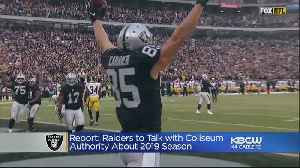 Raiders Officials To Meet With Coliseum Authority To Discuss Playing In Oakland Final Year [Video]
