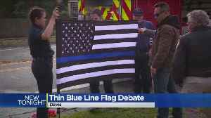 Picture Of Late Officer With Flag Sparks Debate [Video]