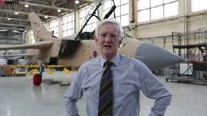 Man proud to work for RAF for 50yrs - & won't stop [Video]
