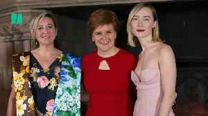 'Mary, Queen Of Scots' Premieres In Edinburgh Castle [Video]