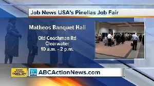 Hundreds of jobs available at Clearwater Job Fair on Tuesday [Video]