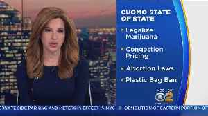 Gov. Cuomo To Deliver 'State of the State' [Video]