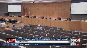 Cape Coral City Council to change election years [Video]