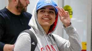News video: Relatives Of Saudi Teen Who Got Asylum In Canada Have 'Disowned Her'