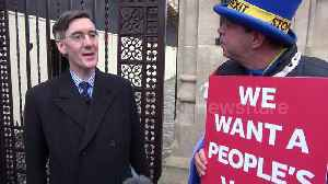 News video: MP Jacob Rees-Mogg says May's plan 'does not deliver on Brexit'