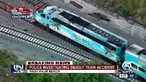 Woman on the tracks hit, killed by Tri-Rail train in West Palm Beach [Video]