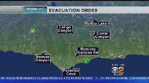 With Another Storm On The Horizon, Malibu Begins Mandatory Evacuations [Video]