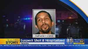 Man Suspected In Vacaville Stabbings, Arson Dies After Being Shot By Police [Video]