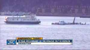 10th anniversary of 'Miracle on the Hudson' celebrated [Video]