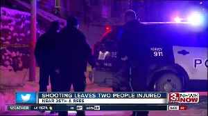 Omaha police looking for gunman who injured two people Monday night [Video]