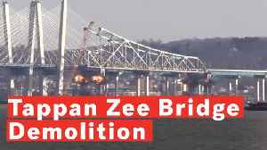 Watch: Tappan Zee Bridge Demolished In Controlled Explosion [Video]