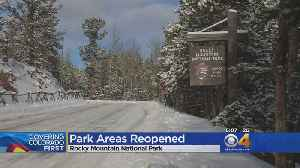 Rocky Mountain National Park Reopens Some Areas [Video]