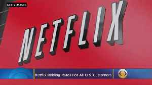 Netflix Raising Prices For 58M US Subscribers; Largest Increase Since Service Launched [Video]