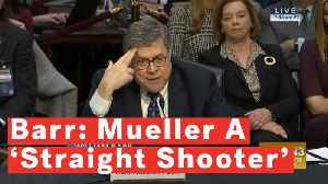 William Barr Says Trump Met With Him And Wanted to Know What He Thought Of Mueller's 'Integrity' [Video]