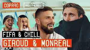 Blindfold FIFA and Chill ft Giroud vs Monreal | Arsenal vs Chelsea Special with Puma Football [Video]