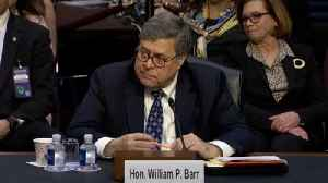 News video: AG Nominee William Barr Says He Wouldn't Follow Trump's Directive To Fire Mueller In Absence Of Good Cause