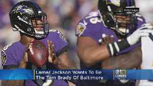 Ravens QB Lamar Jackson Tells Ray Lewis 'I Want To Be Brady,' Bring Super Bowl To Baltimore [Video]