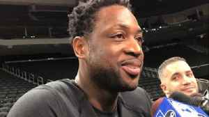 Dwyane Wade on playing in Milwaukee, where he played college ball at Marquette [Video]