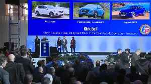 North American Car, Truck and Utility of the year unveiled at North American International Auto Show [Video]