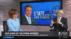 David Birdsell Analyzes Cuomo's New York State Of The State 2019 [Video]
