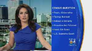 Citizenship Question Banned From Census Poll [Video]