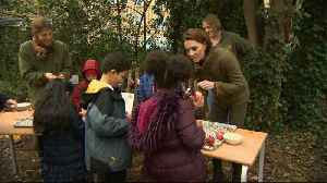 Kate Middleton Visits King Henry's Walk Community Garden [Video]