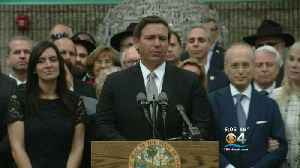 Gov. Ron DeSantis Takes Stand For Jewish Community [Video]