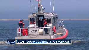 Coast Guard mom reacts to government shutdown [Video]