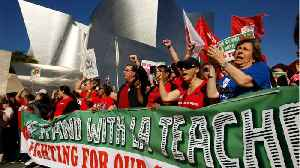 Parents Support L.A. Teachers Strike Despite Chaos At Home [Video]