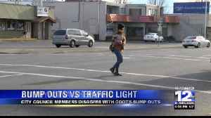 ODOT To Make Certain Intersections Safer with Bump/Bulb Outs [Video]