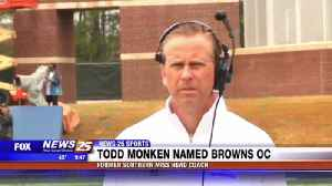 Todd Monken named Browns OC [Video]