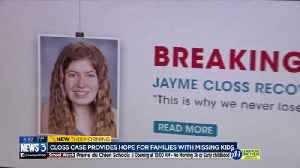 Jayme Closs case renewing hope for other families with missing children [Video]