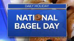 Daily Holiday - National bagel day [Video]