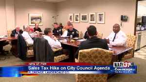 Florence Sales Tax Hike on the City Council Agenda [Video]