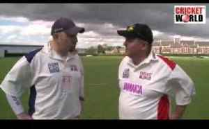 Cricket World TV - Jim Chaudry Interview [Video]