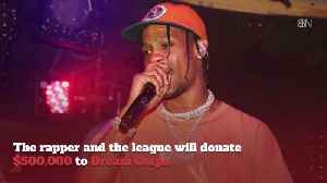 Travis Scott And The NFL Make Big Super Bowl Charity Donations [Video]