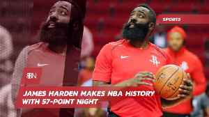 James Harden Is Blowing Up NBA Records Again [Video]