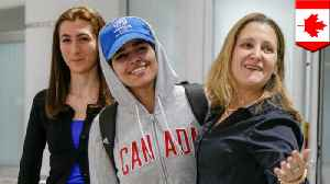 News video: Saudi teen who fled her family in fear gets a new home in Canada