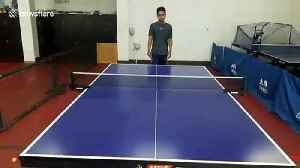 Table tennis whiz reveals his 100 best trick shots [Video]
