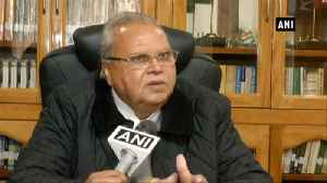 Hurriyat shouldn't consider me an alien: Satyapal Malik [Video]