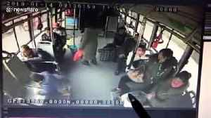 Careless mum in a hurry leaves two-year-old son on bus [Video]