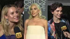 Question Train: Celebs at 2019 Critics Choice Awards 'Interview' Each Other on the Red Carpet! [Video]