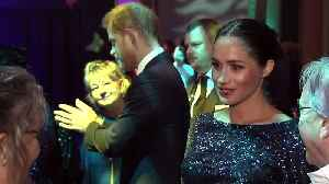 Duke and Duchess of Sussex arrive at Royal Albert Hall [Video]