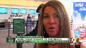 Allegiant offers more cheap flights to the beach [Video]